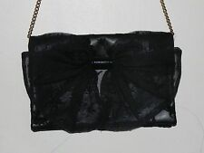 Red Valentino Black Bow Small Crossbody Purse Made In Italy