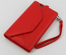 New Genuine Skin Leather Flip Wallet Case with coin pocket for iphone  6 5.5""