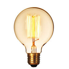 E27 40W Filament Light Bulbs Vintage 220V Tungsten Industrial G80 Edison Lamp