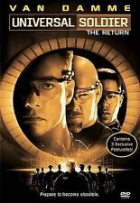 Universal Soldier - The Return DVD, Jean-Claude Van Damme, Bill Goldberg, Heidi