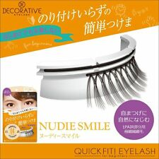 Decorative QUICK FIT! EYELASH NO.4 NUDIE SMILE 1PAIR Corner of the eye part only