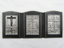 † SCARCE CHAPLAIN'S MILTARY STATIONS OF THE CROSS FIELD TRAVEL POCKET SHRINE †