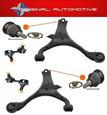 FITS HONDA CIVIC 2001-2006 FRONT WISHBONE ARMS BALLJOINTS & STABILISER LINK BARS
