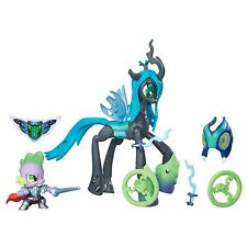 My Little Pony FIM Queen Chrysalis & Spike Guardians Of Harmony Figures Set!