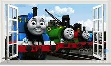 Thomas & Friends Percy 3D Window Wall Decals Stickers Kids Nursery Mural Art