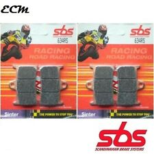 Yamaha R1 1998 - 2006 Front Brake Pads SBS 634RS Race Sinter Complete Front End