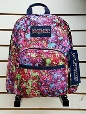 Jansport HALF PINT (Mini backpack) Multi Flower Explosion **NEW FOR 2017**