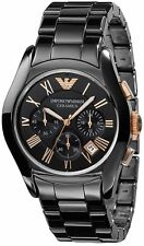 Emporio Armani  Ceramica AR1410 Chronograph Wrist Watch for Men