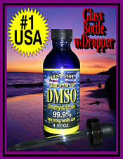 Americas #1 DMSO with Dropper Lid 99.9% Pure DMSO Liquid Fast Dispensing USA #1