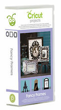 CRICUT *FANCY FRAMES* PROJECT CARTRIDGE *EASEL PHOTO STANDS PICTURE MATS...* NEW