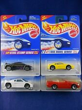 Hot Wheels 1995 - 2 Zender Fact 4's, Ferrari, Mercedes Lot – Group of 4 - Mattel
