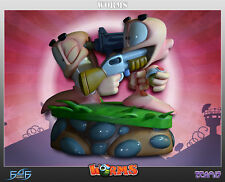 "WORMS 2 - Armageddon 10"" Diorama Statue (First 4 Figures) #NEW"