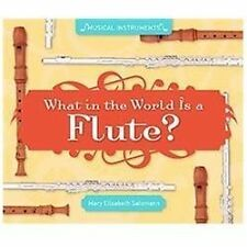 What in the World Is a Flute? (Super Sandcastle: Musical Instruments)-ExLibrary