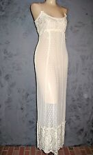 Claire Pettibone Gown Bridal AMANDA Luxury Lingerie Ivory All Lace XS NEW $168