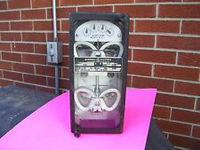 Rare Find antique vintage general electric , electric meter watthour meter  :