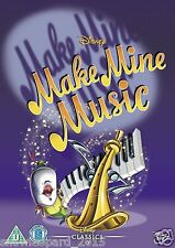 Make Mine Music DVD Original Walt Disney Animated Cartoon UK Release New R2