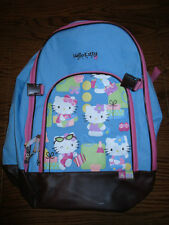 Hello Kitty Book Bag/Backpack, 1 large compartment & small organizer compt., GUC