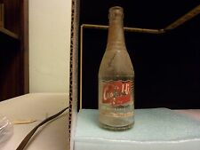 Antique Canfield's Pop Bottle found in Lake Michigan, 1952 Vintage