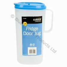 1.8L Fridge Door Jug & Lid Pitcher Litre Container Milk Plastic Juice Water