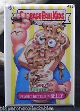 """Garbage Pail Kids Peanut Butter 'N Kelly - 2"""" X 3"""" Fridge / Locker Magnet"""