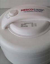 Nesco American Harvest Food Dehydrator & Jerky Maker with Temperature Control