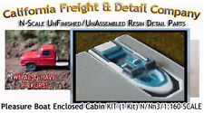 PLEASURE BOAT W/OPEN CABIN (1 Kit) N/1:160-Scale Craftsman CAL FREIGHT