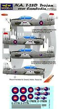 LF Models Decals 1/72 NORTH AMERICAN T-28D TROJAN OVER CAMBODIA