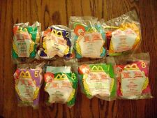 1999--WINNIE THE POOH (Complete SET of 8 Toys) by McDonald's [NIP]