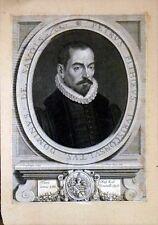 """Burin de VAN SCHUPPEN, """"Portrait de Pierre Pithou"""""""