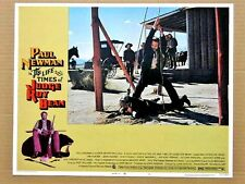 LIFE AND TIMES OF JUDGE ROY BEAN Orig WESTERN Lobby Card PAUL NEWMAN JOHN HUSTON