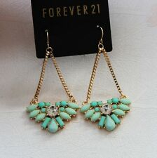 New Forever21 Resin Drop Dangle Earrings Christmas Gift Fashion Jewelry Women FS