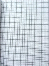 Single A4 Maths Graph Chart  Exercise Notebook - 5mm Squares 80 Pages Slim Size