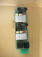 MSA 479767 Display Circuit Board Fire Alarm LED *Missing Cover*