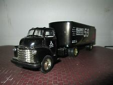 Ertl 1950 GMC C60 chevy COE semi Alliance # 59 Dennis Setzer 1:43 O Scale