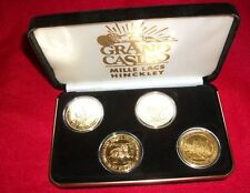 GRAND CASINO MINNESOTA ENDANGERED SERIES COLLECTOR COINS W/ORIG CASE 2000/1995