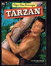 Edgar Rice Burroughs' Tarzan #43 Comic Magazine / Dell ~ 1952 (5.0) WH