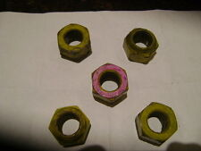 5@NASCAR Race Used Lug Nuts from Danica Patrick #10  Las Vegas Race 2016 & COA