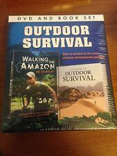 Outdoor Survival DVD & Book Gift Set - New & Sealed