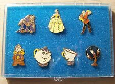 Disney Pin DLR Beauty and the Beast Film Premiere Set Cast Exclusive
