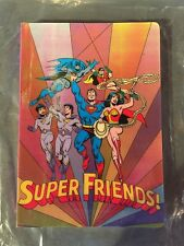 2003-SUPERFRIENDS JOURNAL-1st EDITION MAGIC MOTION COVER -VHTF NOTEBOOK