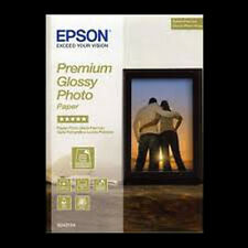 EPSON PREMIUM GLOSSY PHOTO PAPER 5x7 (13x18cm) 50 SHTS NEXT DAY DELIVERY S041875