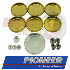 FORD 289 302 351 WINDSOR BRASS WELCH OR WELSH PLUG SET PIONEER PE-108-BR