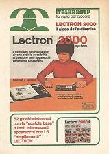 X0953 Lectron 2000 System - Pubblicità del 1976 - Vintage advertising