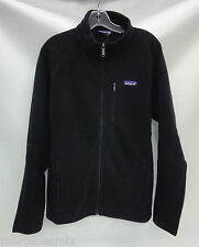 Patagonia Mens Better Sweater Fleece Jacket 25527 Black Size Large