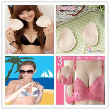 One Pair Bikini Insert Pad Removeable Swimsuit Bra Enhancer Pads Push Up V2