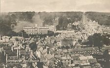 POSTCARD  GLOUCESTERSHIRE  CIRENCESTER  From  Church  Tower