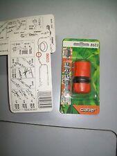"""raccordo acquastop claber 8603 Tubo 1/2"""" Diametro Int. 12 mm. Est. 17 mm."""
