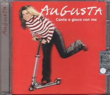 """AUGUSTA - RARO CD FUORI CATALOGO CELOPHANATO """" CANTA E GIOCA CON ME """""""