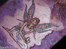 Butterfly Fairy -  (Cling backing for acrylic handles) Rubber Stamp