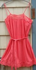 NWT VELVET GRAHAM & SPENCER Lace Trim Belted Dress Size Small Made in USA!